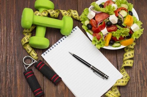 tips om gezond af te vallen