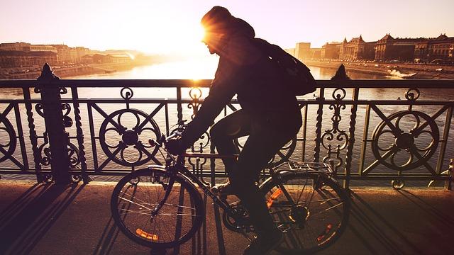fietsen ter ontspanning