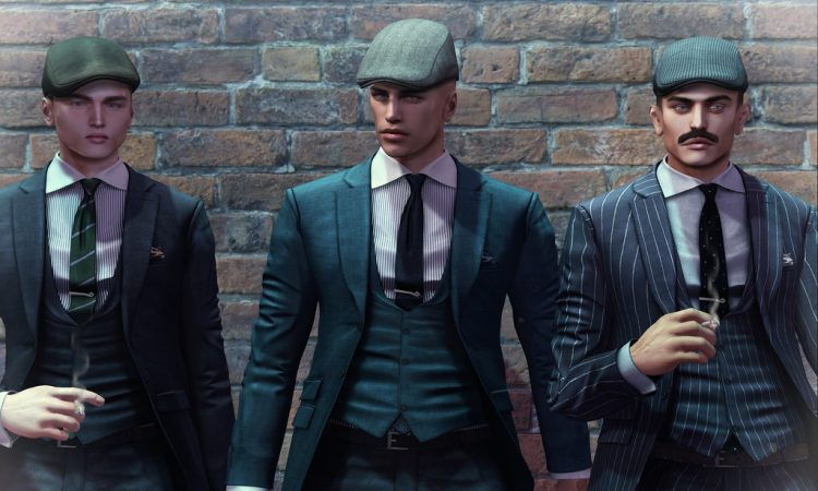 Peaky Blinders-look