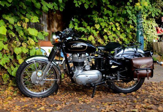 klassieke motorfiets