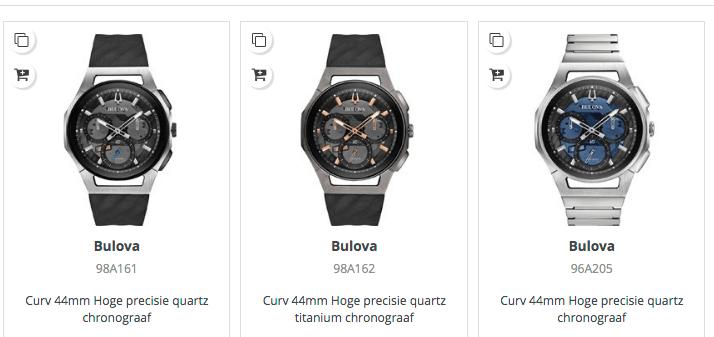 horloges van Bulova