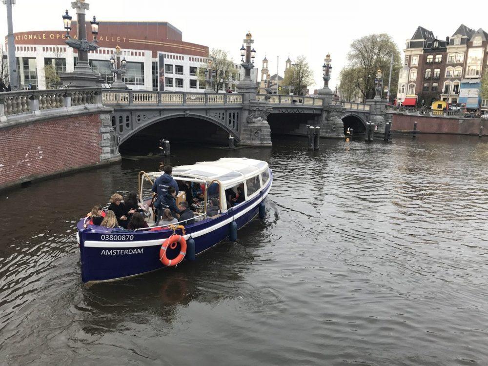 Boottocht in Amsterdam
