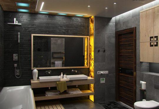Trends voor een stoere badkamer