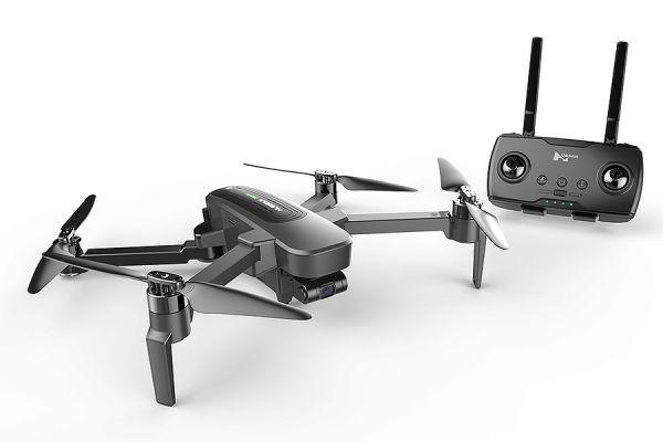 drone met camera