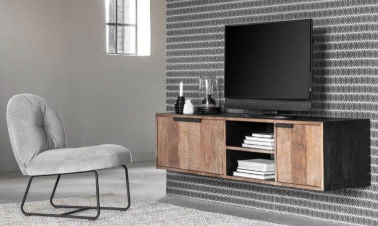 Zwevend tv meubel bevestigen